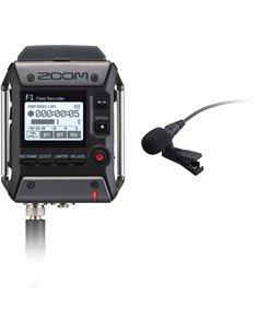 F1-LP - field recorder + Microfono lavalier